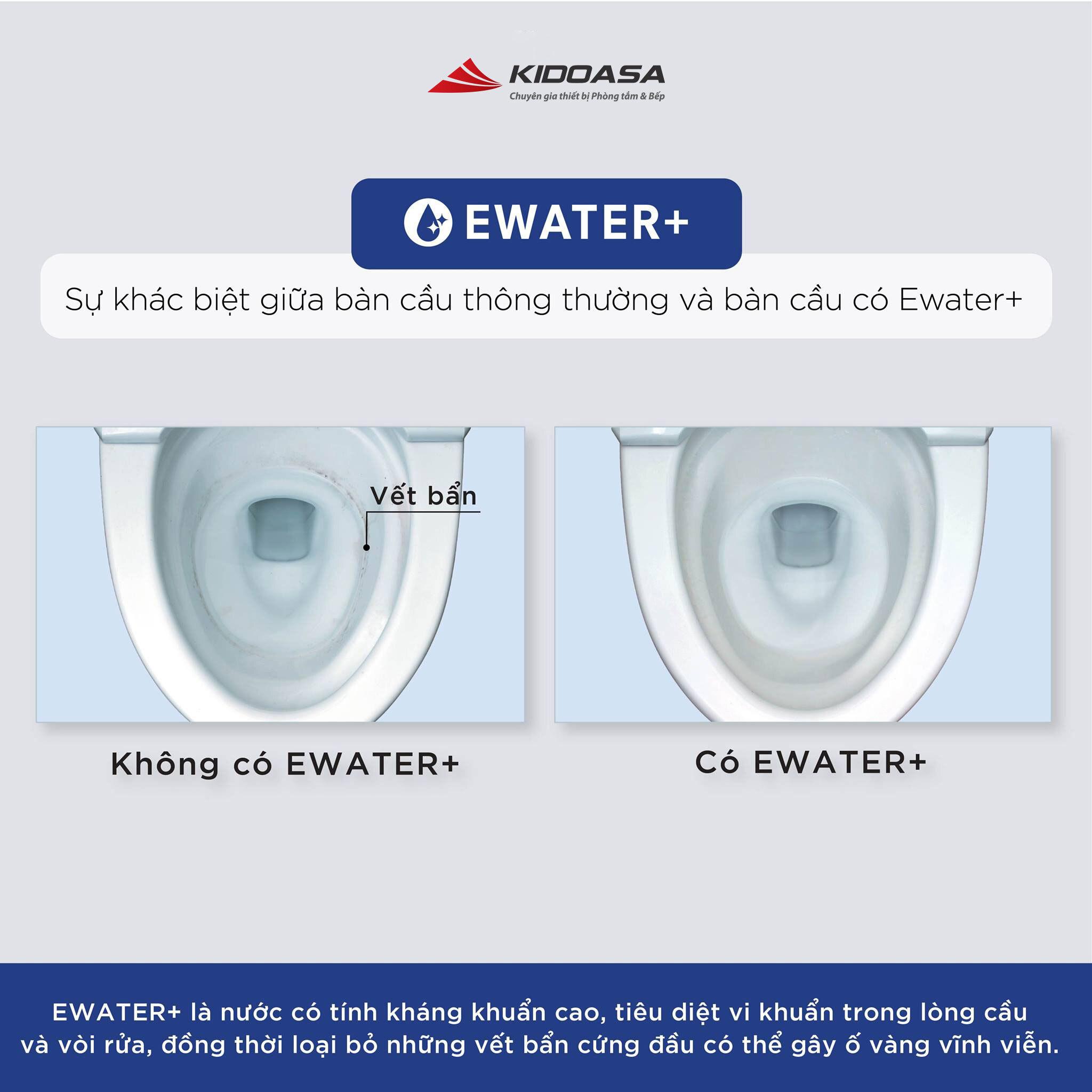 chức năng ewater+ trên bàn cầu thông minh neorest toto