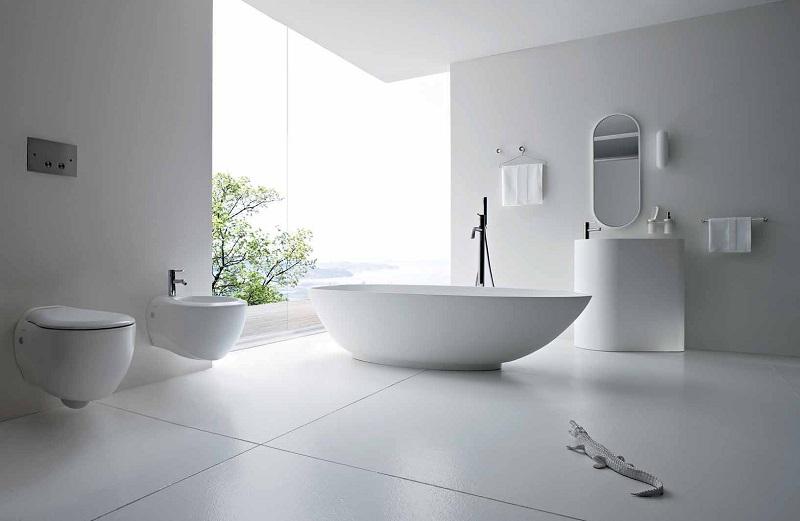 Bồn cầu treo tường giúp tiết kiệm thời gian vệ sinh hơn