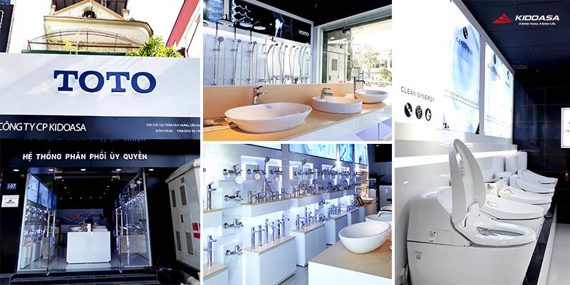 TOTO Việt Nam chuyên cung cấp các thiết bị vệ sinh chính hãng